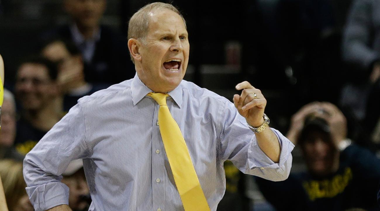 John Beilein Michigan coach