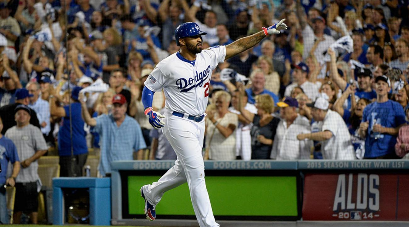 Los Angeles Dodgers Matt Kemp