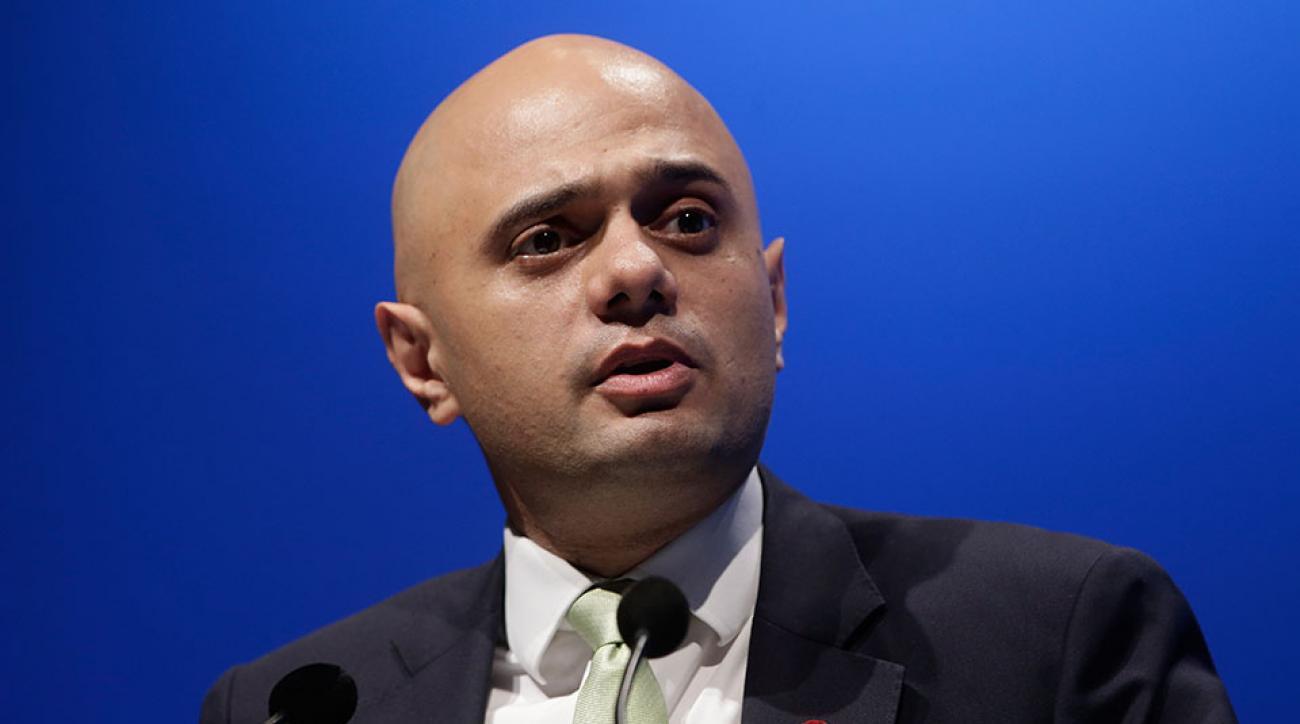 Sajid Javid UK government