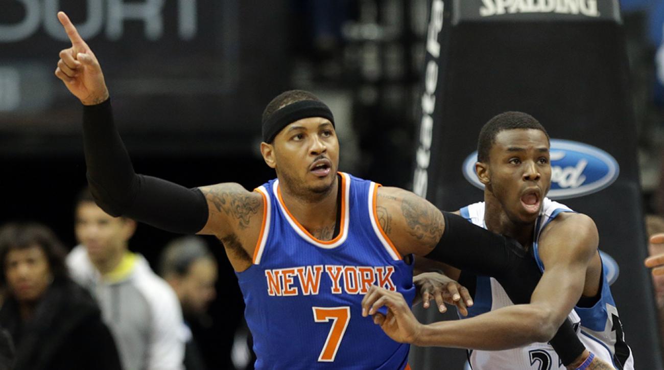 Carmelo Anthony Knicks Bulls