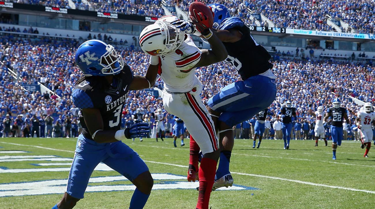 Kentucky Louisville football rivalry