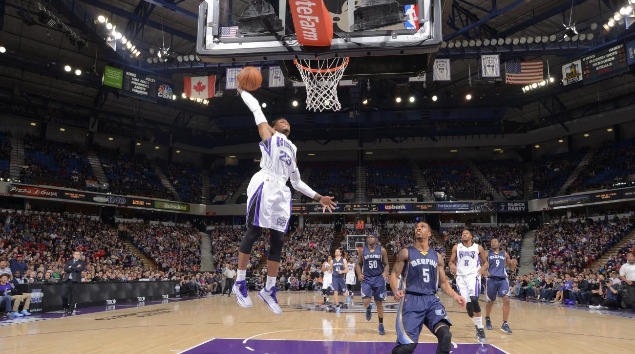 Sacramento Kings guard Ben McLemore Ferguson RIP Mike Brown