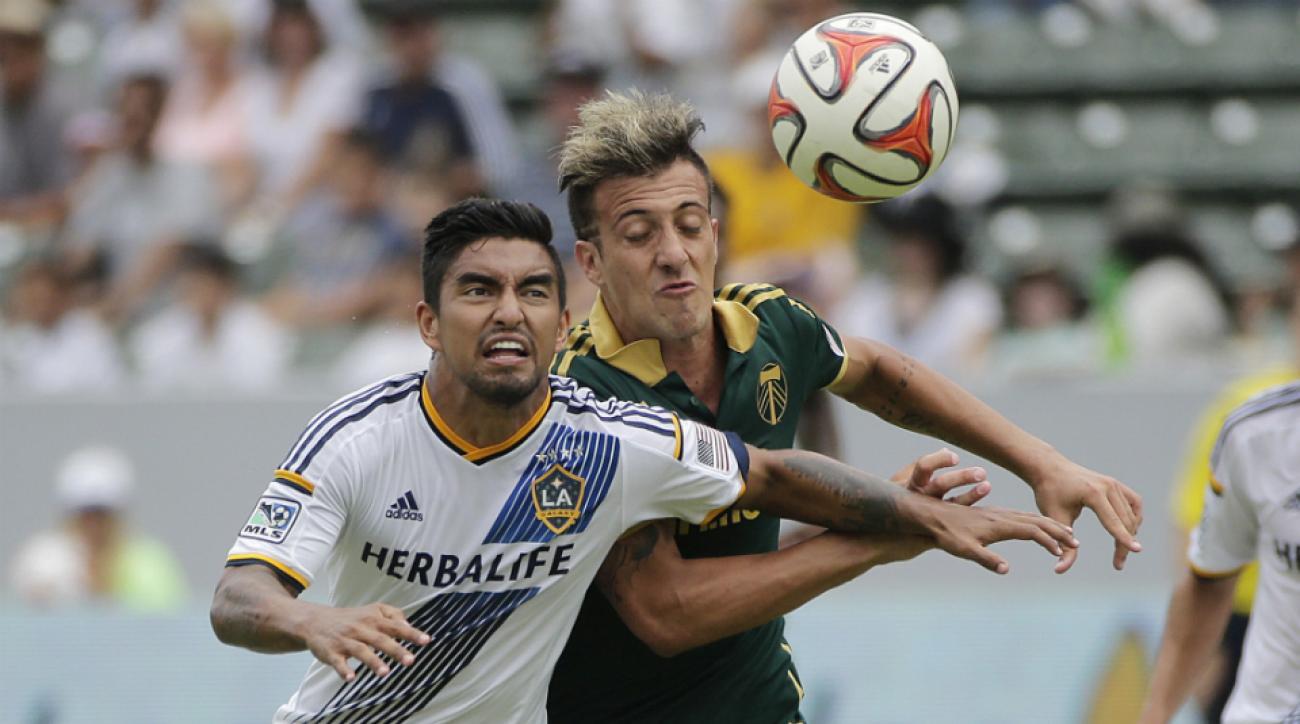 Galaxy's A.J. Delagarza injury return MLS Cup Revolution