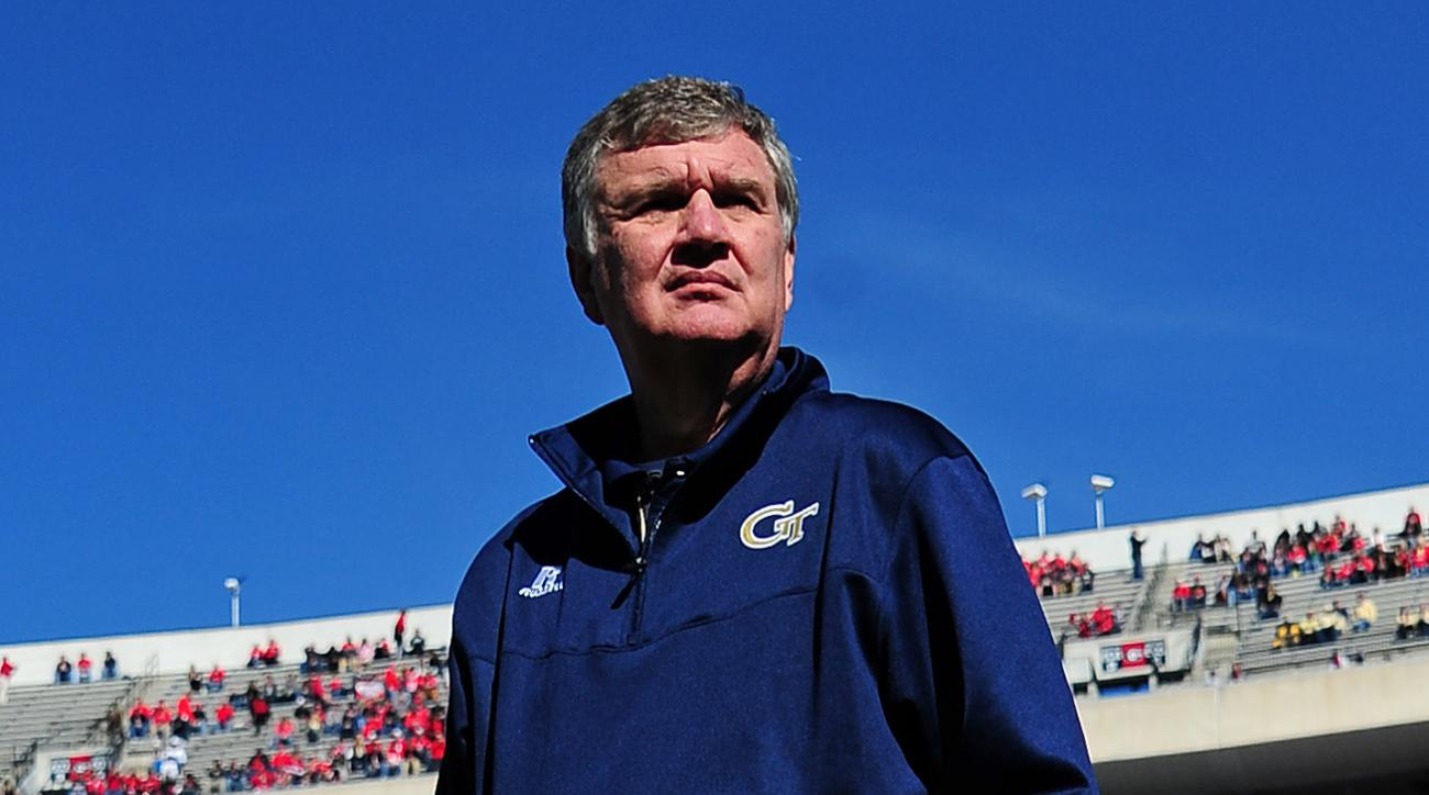 Paul Johnson, Georgia Tech discussing contract extension