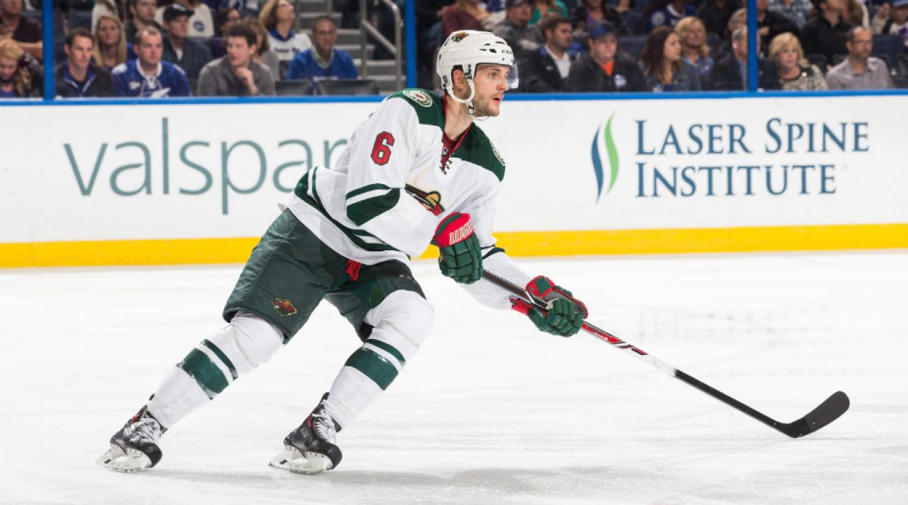 Wild's Marco Scandella fined illegal hit Blues' T.J. Oshie