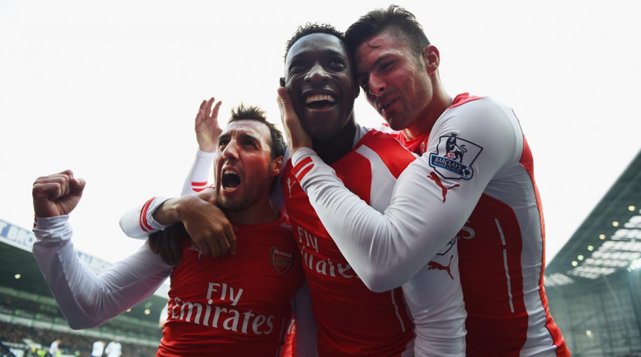 Watch Arsenal vs Southampton through a Barclays Premier League live stream.