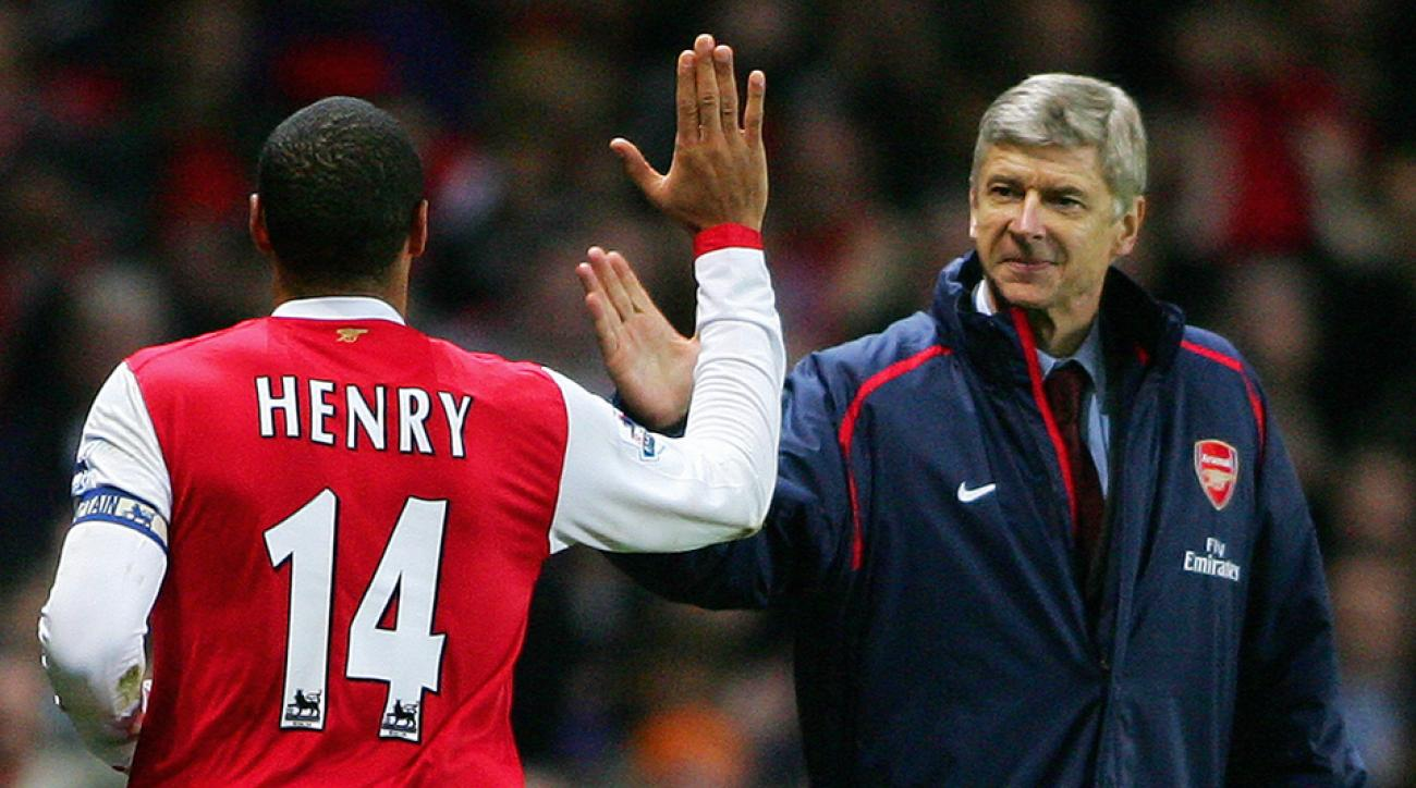 Arsene Wenger Thierry Henry Arsenal return