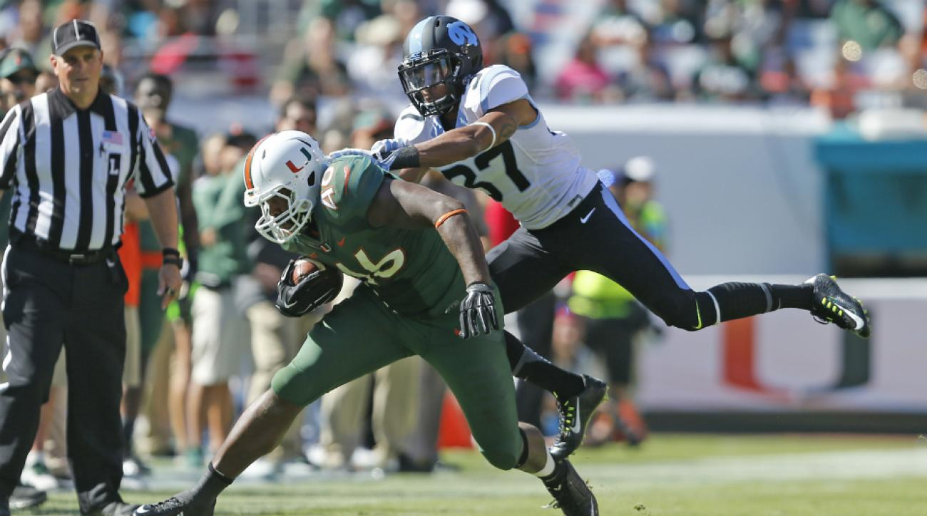 Miami TE Clive Walford knee surgery