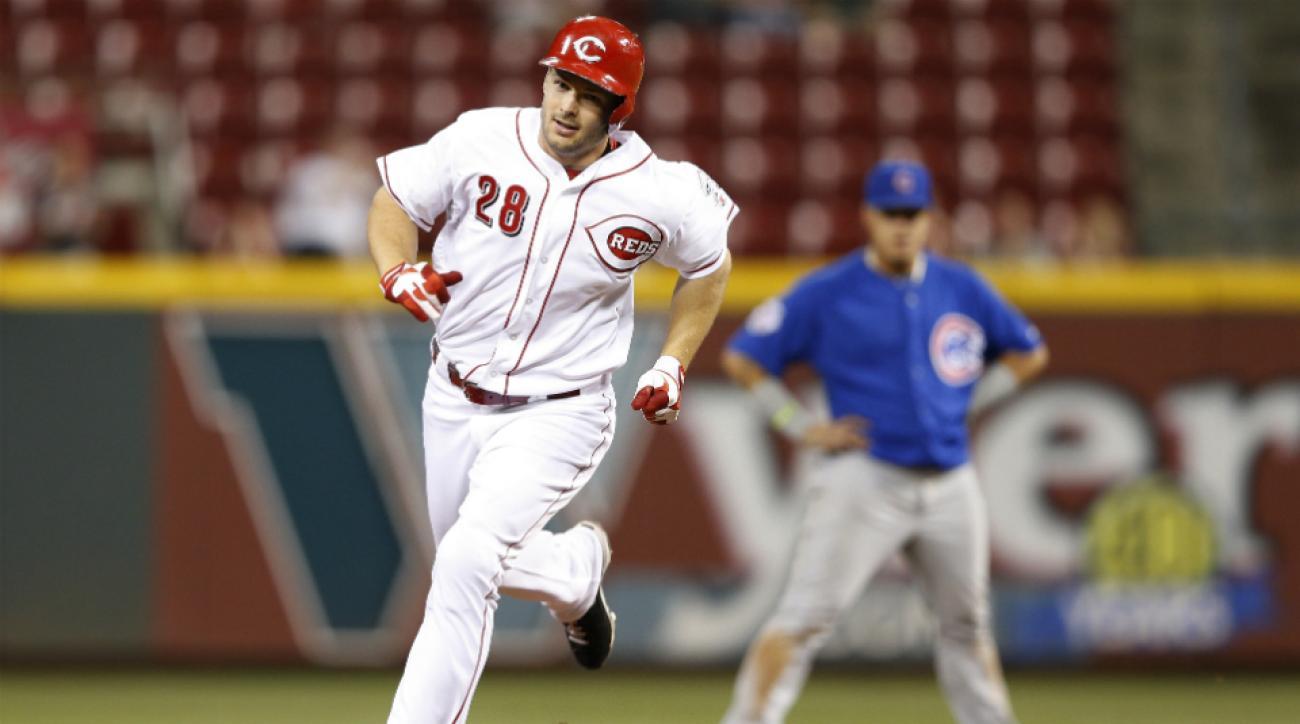 Reds trade Chris Heisey Dodgers Matt Magill