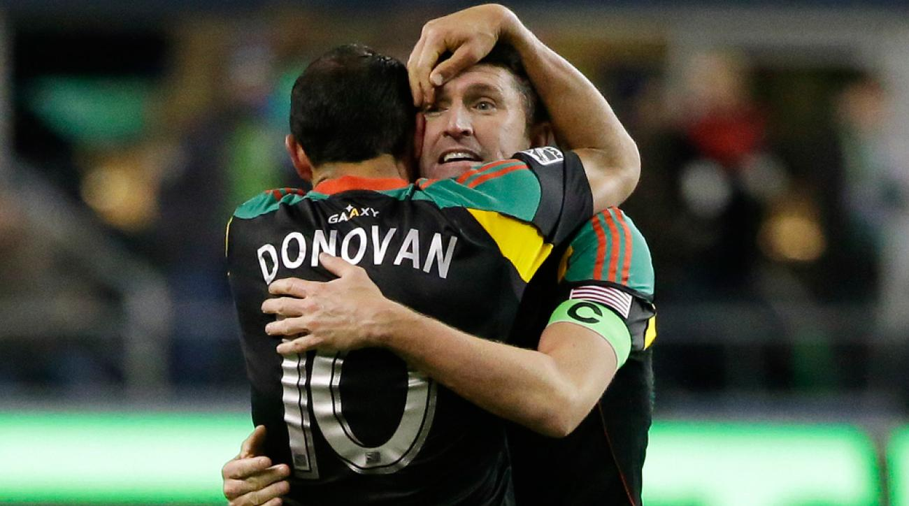 Landon Donovan and Robbie Keane headline MLS' 2014 Best XI.