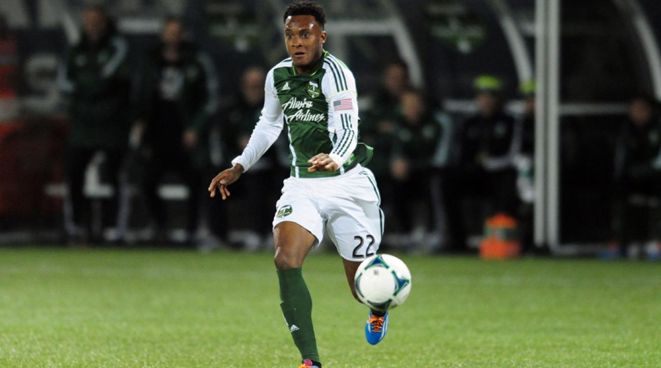 Portland Timbers midfielder Rodney Wallace has been named MLS Comeback Player of the Year for 2014.