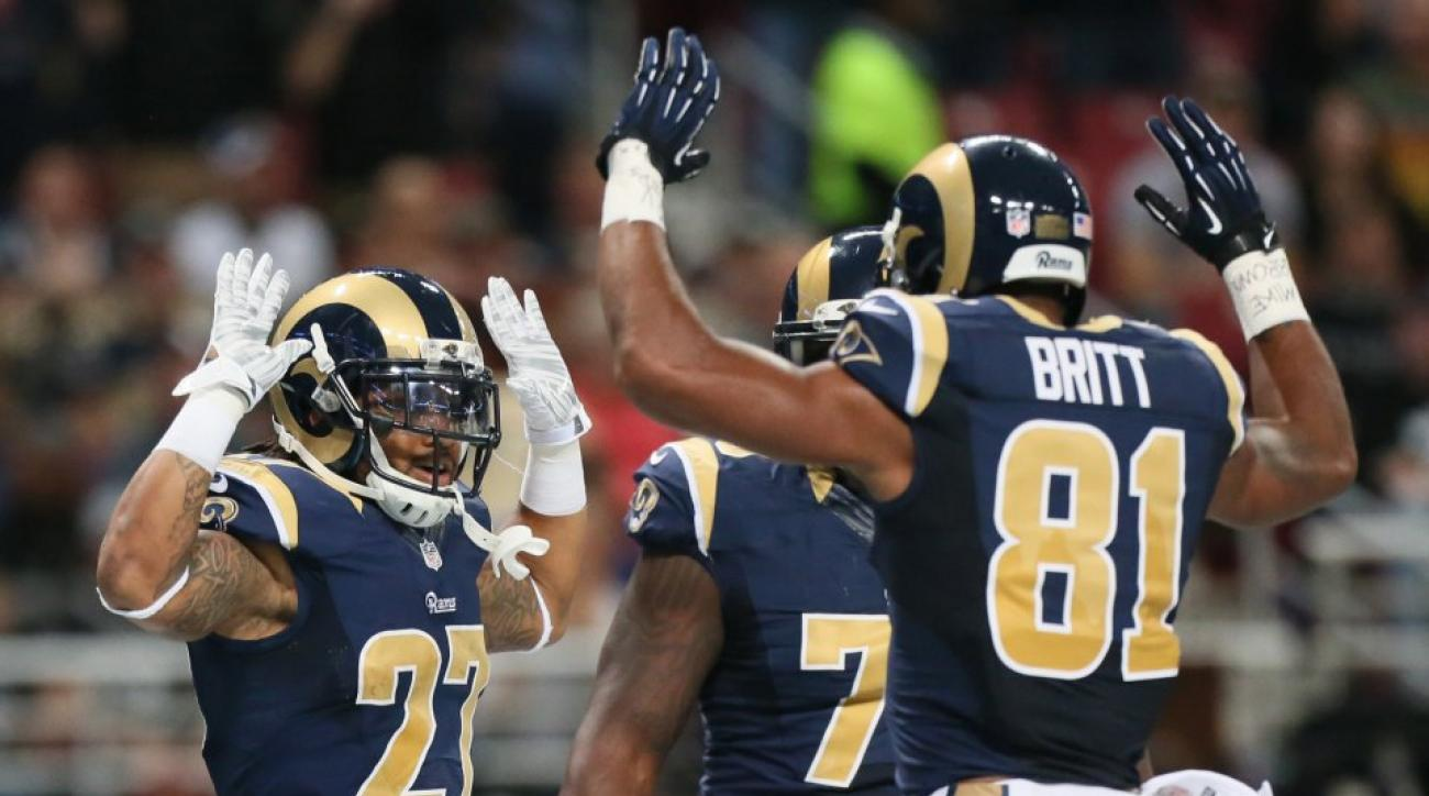St. Louis Rams Ferguson Protest was a topic on the Colbert report