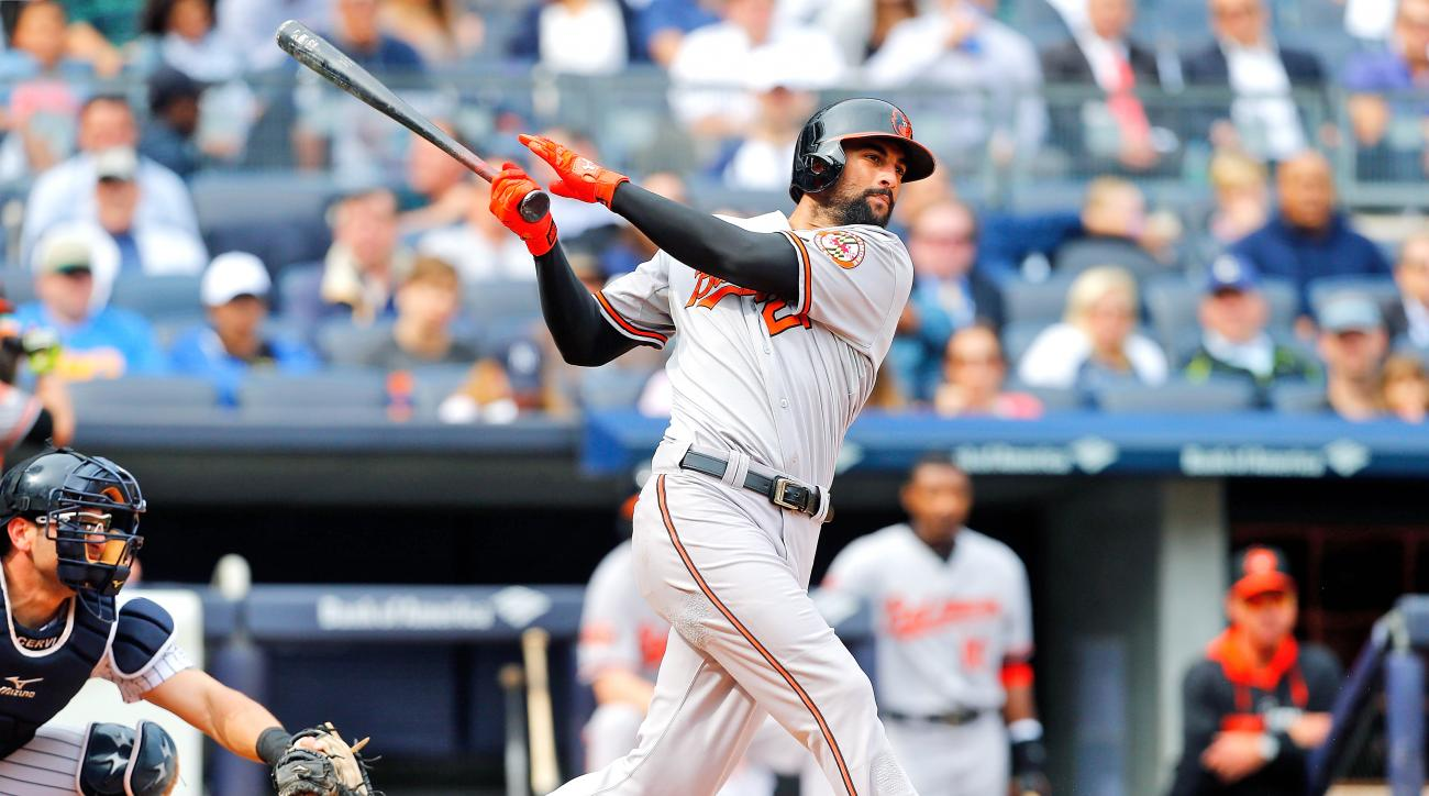 Nick Markakis Orioles to Braves