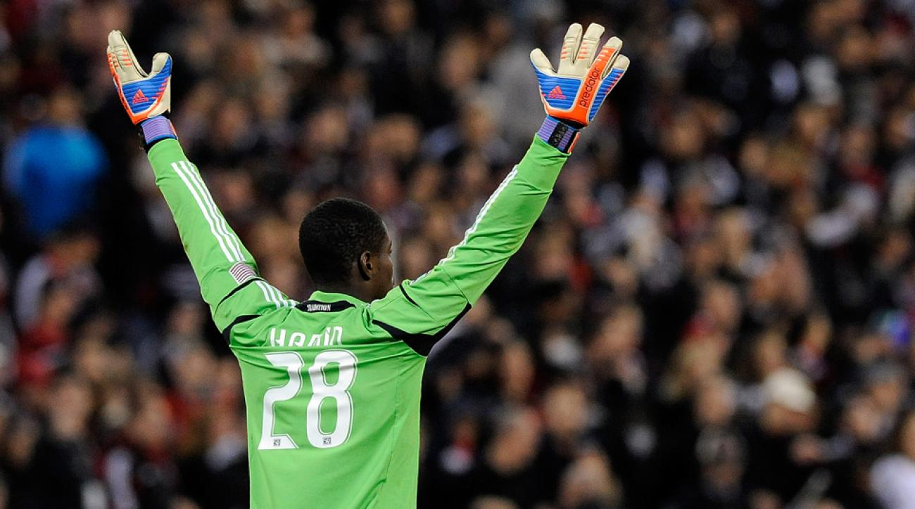 DC United goalkeeper Bill Hamid has been named MLS Goalkeeper of the Year.