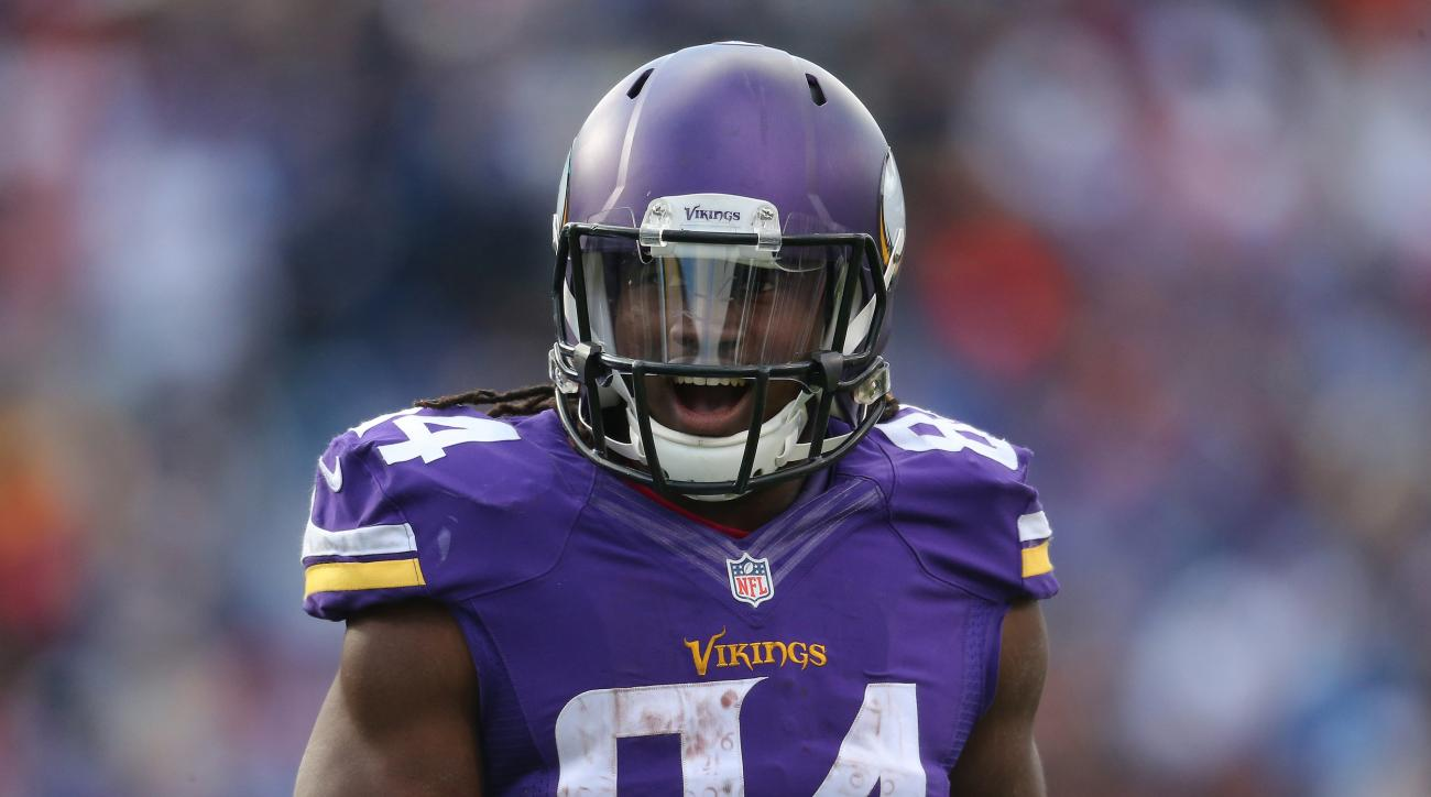 Vikings Cordarrelle Patterson unhappy with role