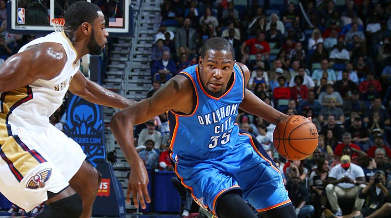 Kevin Durant return vs. Pelicans