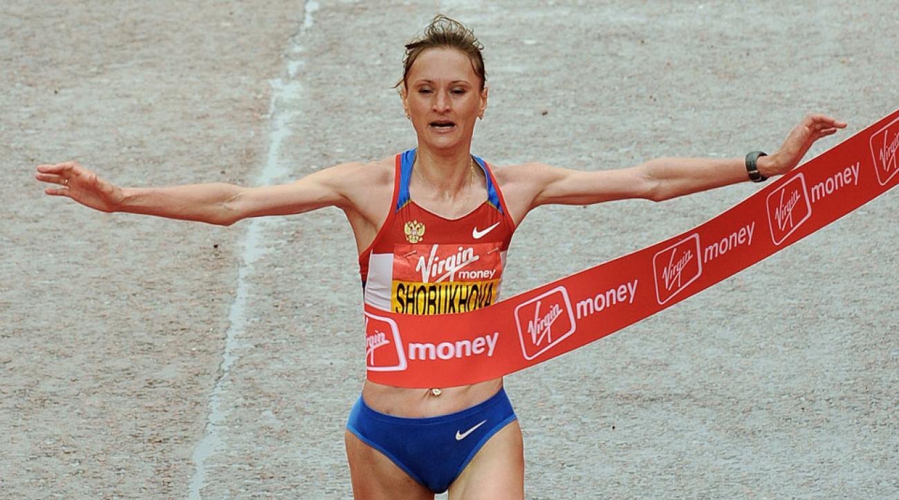 Liliya Shobukhova runner