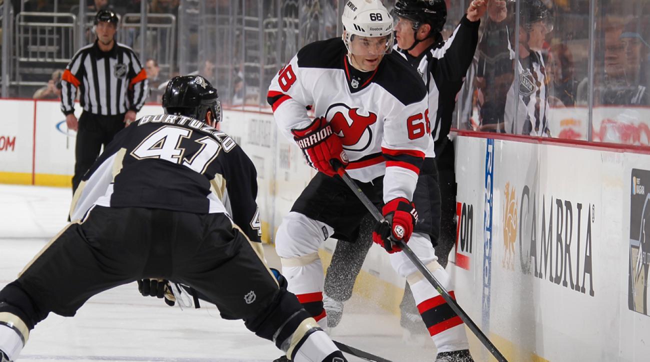 Robert Bortuzzo's hit on Jaromir Jagr has drawn an NHL hearing.