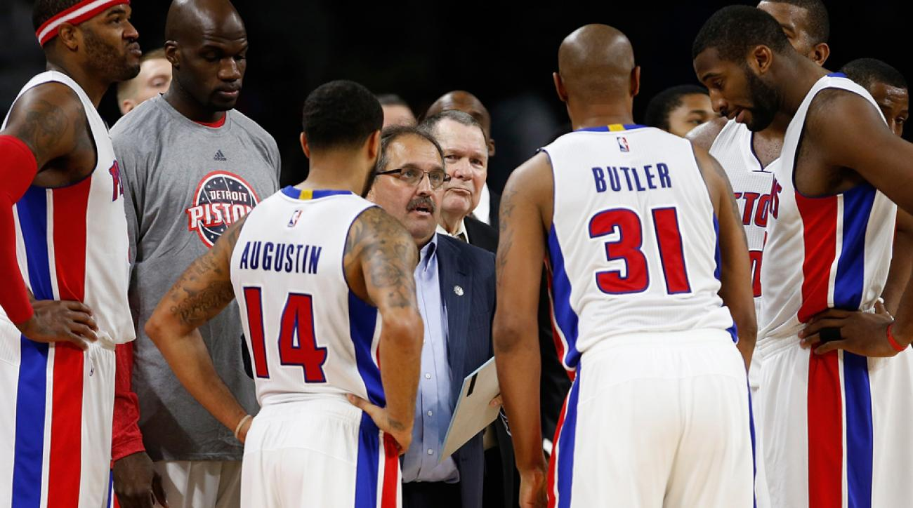 "Pistons coach Stan Van Gundy called his team ""messed up"" after the team's loss to the Lakers."