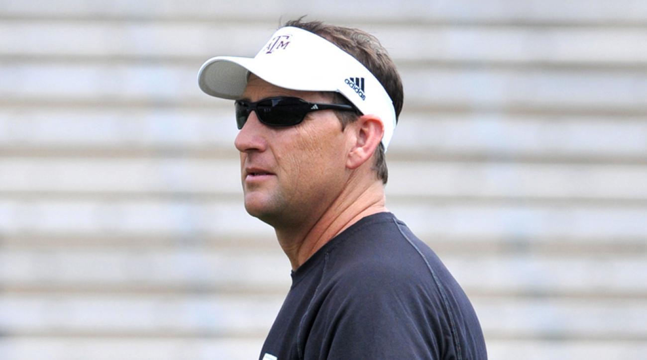 Texas A&M's David Beaty hired at Kansas