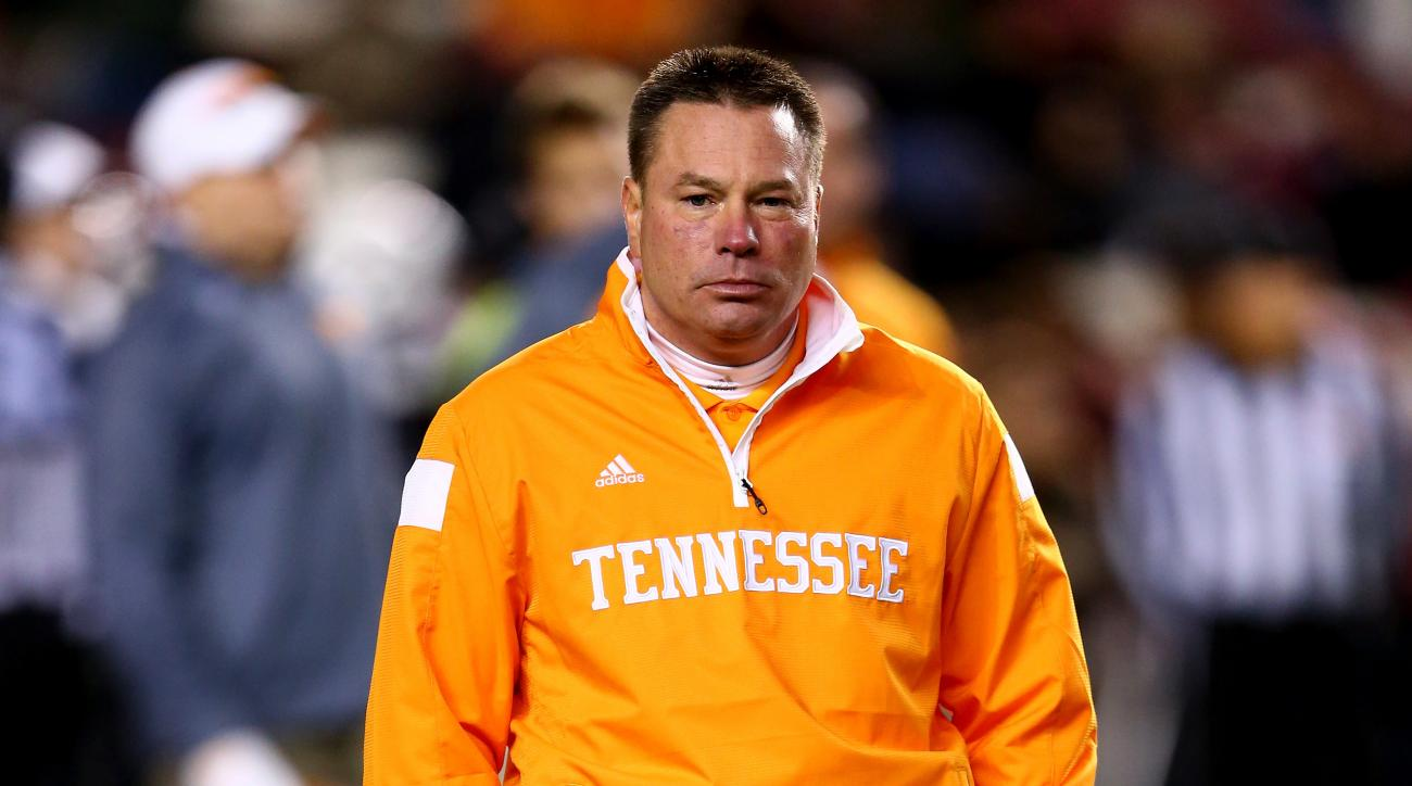 Tennessee coach Butch Jones Michigan