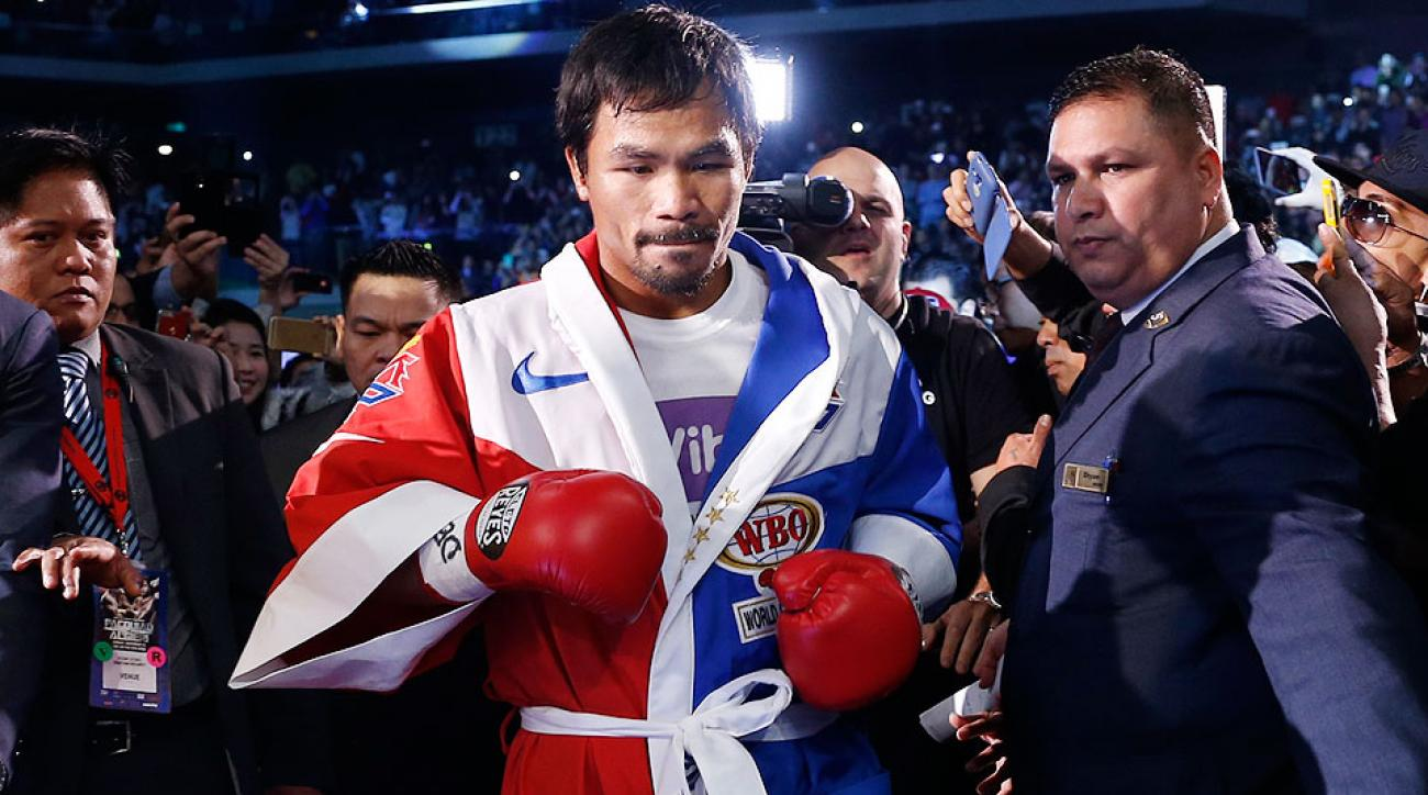 Manny Pacquiao-Floyd Mayweather fight negotiations