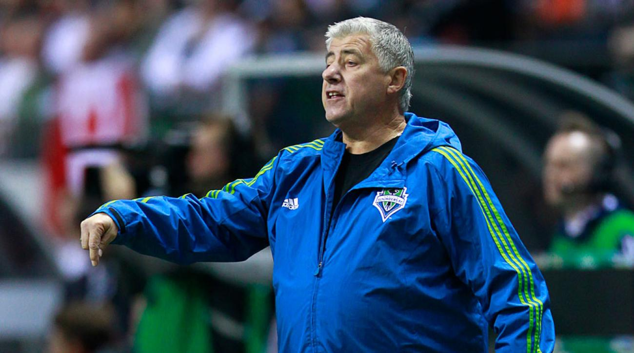 Seattle Sounders Sigi Schmid