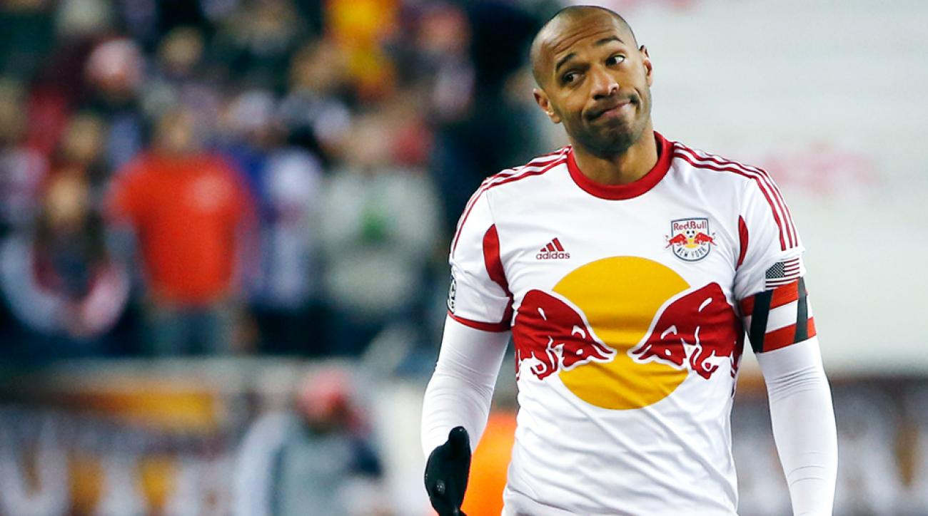 Thierry Henry Red Bulls