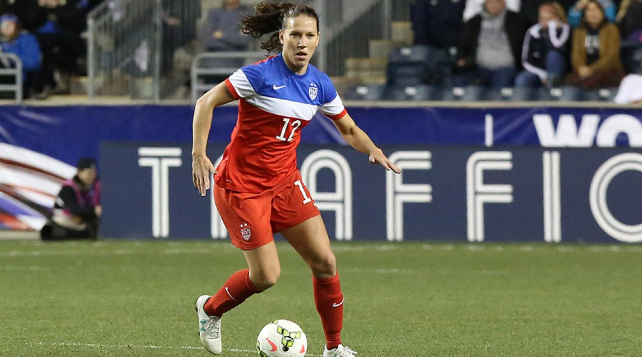 Lauren Holiday U.S. Soccer Female Athlete of the Year
