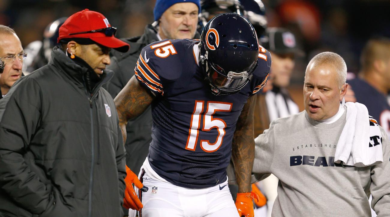 Bears' Brandon Marshall out of hospital