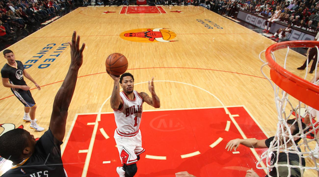 Chicago Bulls G Derrick Rose discusses wearing 'I Can't Breathe