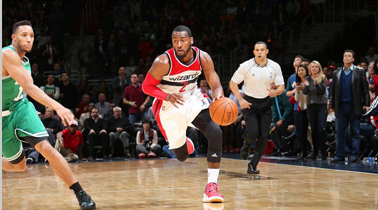 John Wall Wizards vs. Celtics
