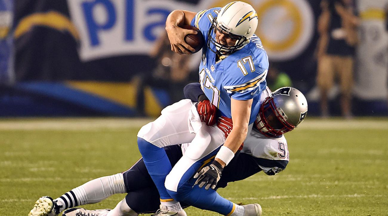 Pats' defense picks up slack in win over Chargers to keep New England atop AFC