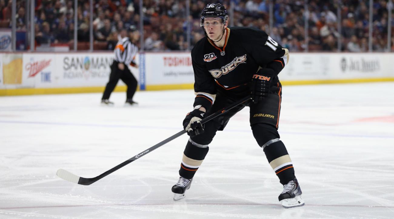 anaheim Ducks sign Ilya Bryzgalov Corey Perry injury