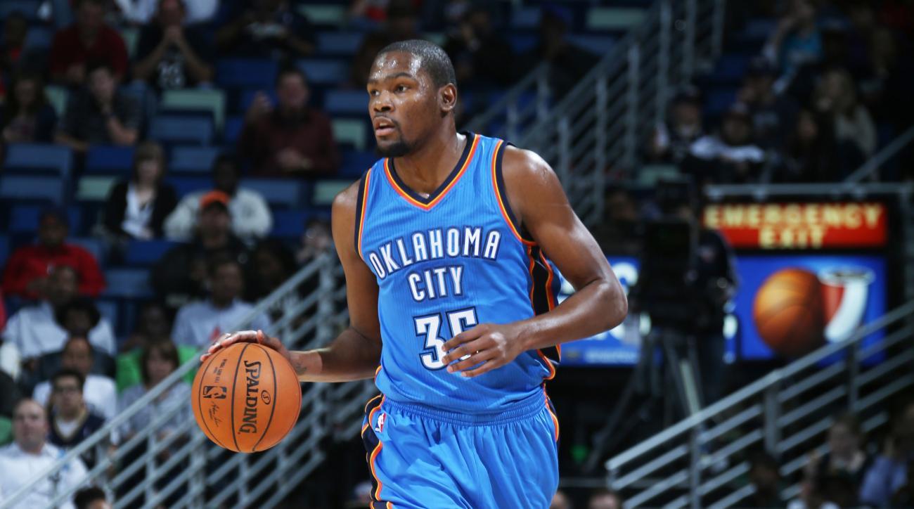 FanNation fantasy basketball, Kevin Durant