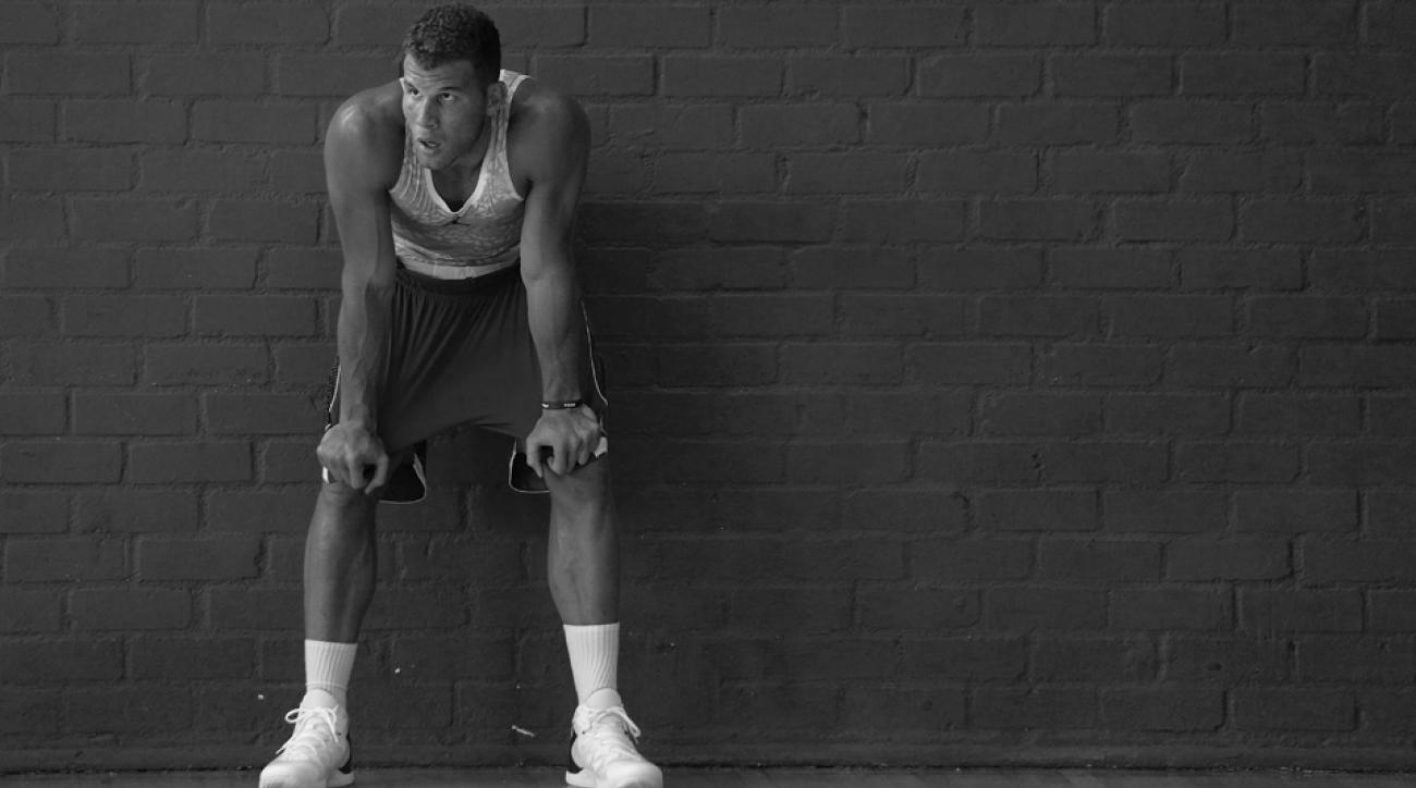 photos los angeles Clippers Blake Griffin workout