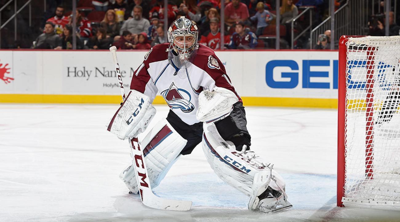 Colorado Avalanche Semyon Varlamov