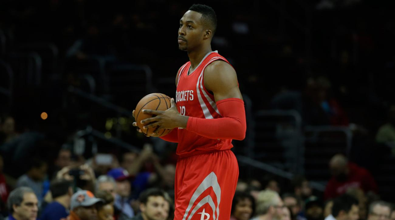 Dwight Howard Rockets injury