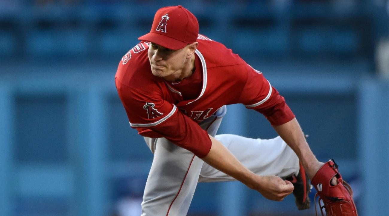 Angels Garrett Richards injury opening day