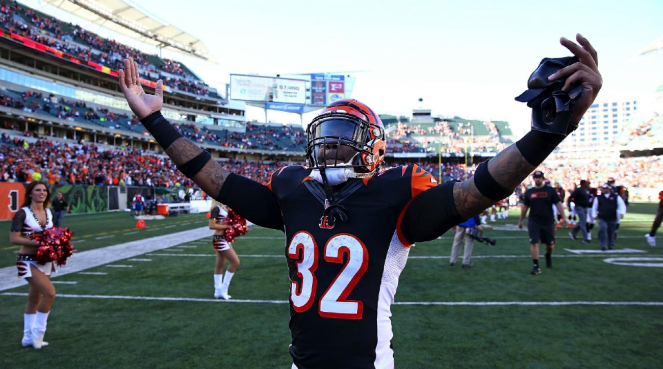 Bengals RB Jeremy Hill Browns comments