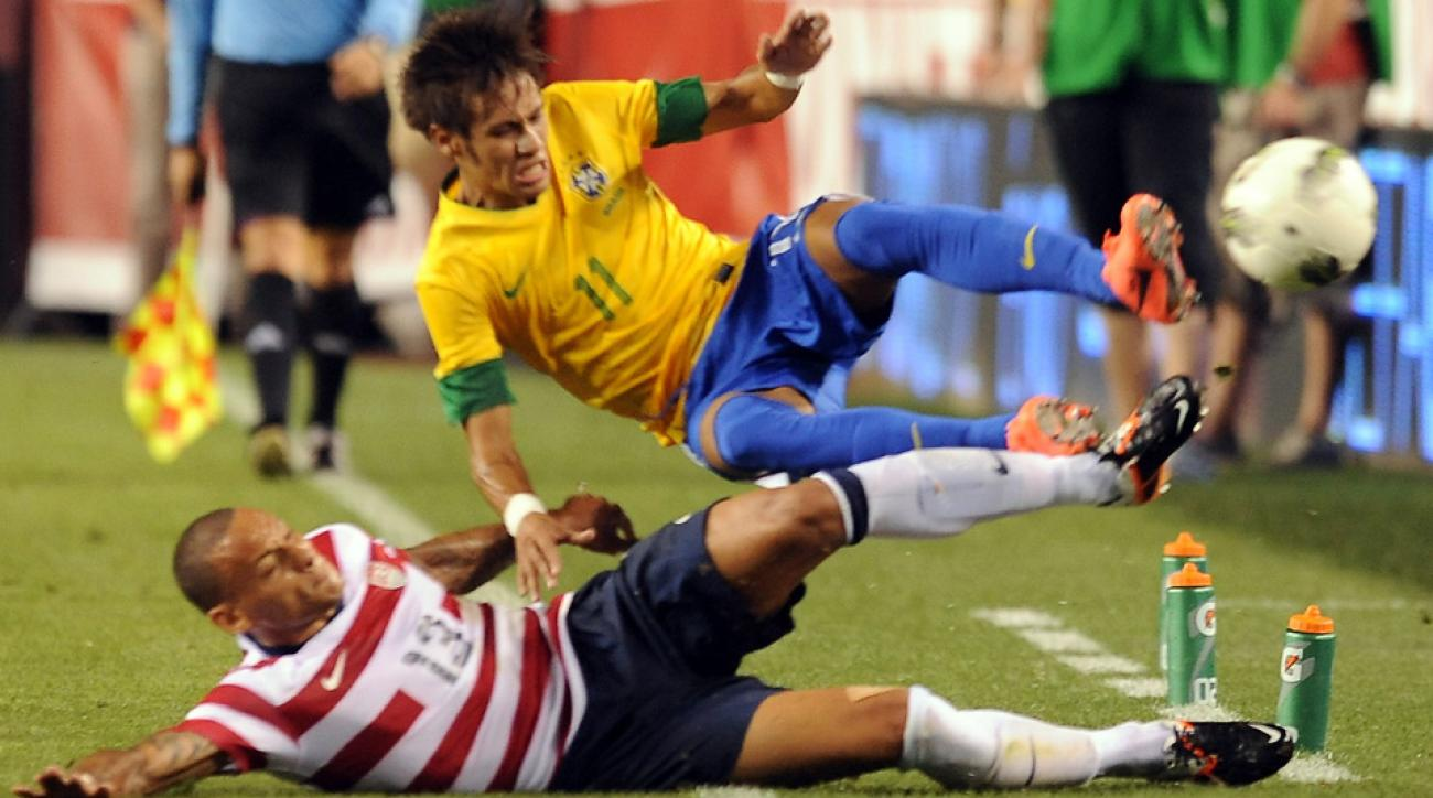 Jermaine Jones and Neymar could go head-to-head again in September, with the USA slated to host Brazil in a friendly.
