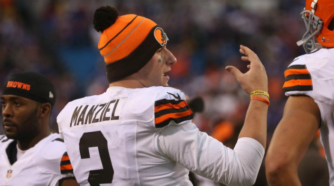 Browns johnny manziel kyle shanahan