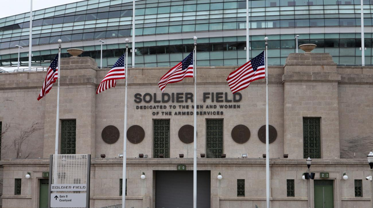 The Chicago Park District board has approved financing for new video boards at Soldier Field.