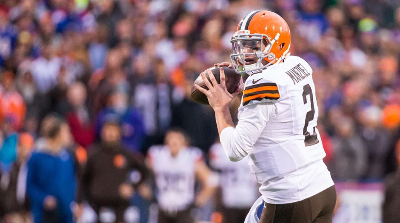 Cleveland Browns Johnny Manziel