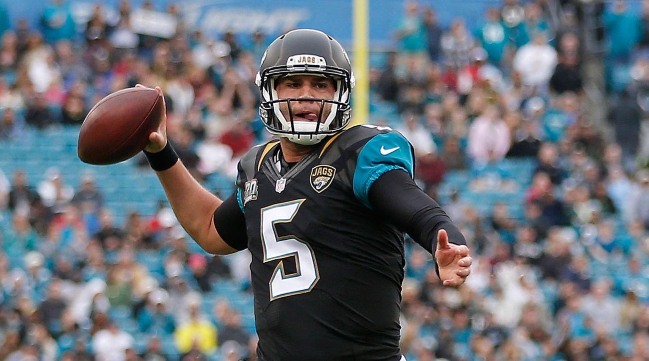 Jaguars' Blake Bortles foot injury status