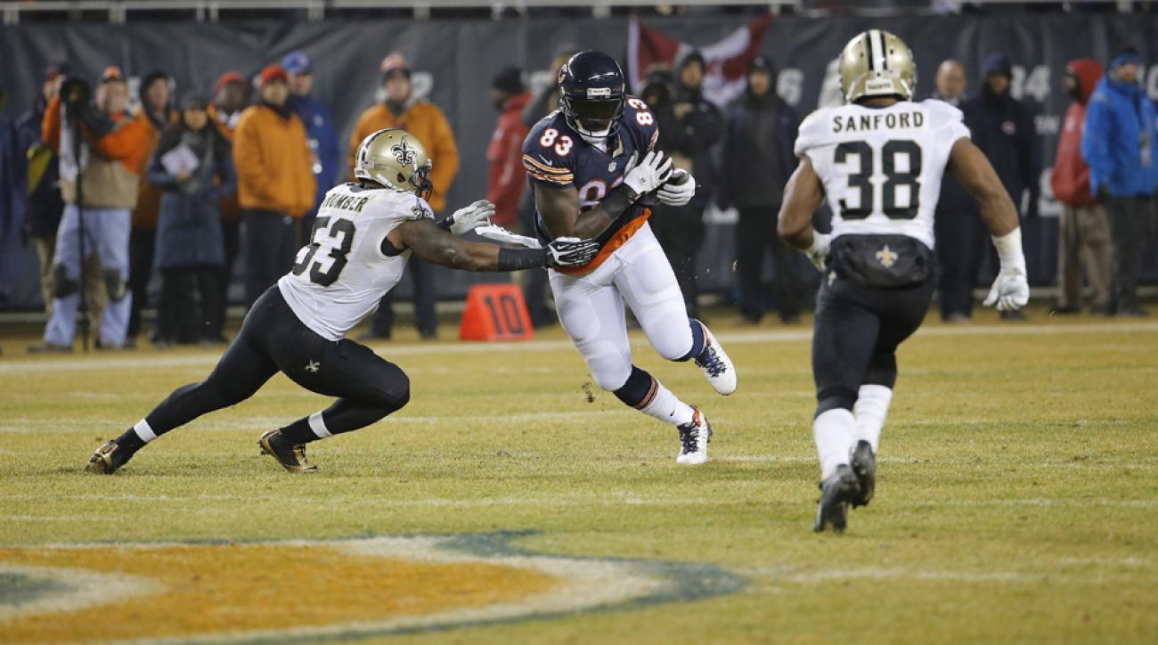 chicago bears martellus bennett offense passion