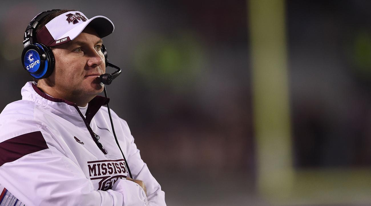 Mississippi State's Dan Mullen not going to Michigan