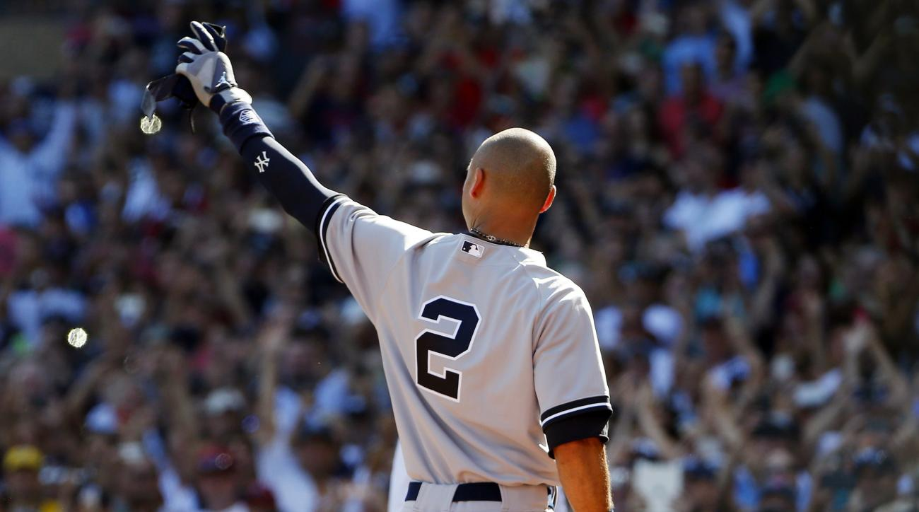 Derek Jeter last out base auctioned