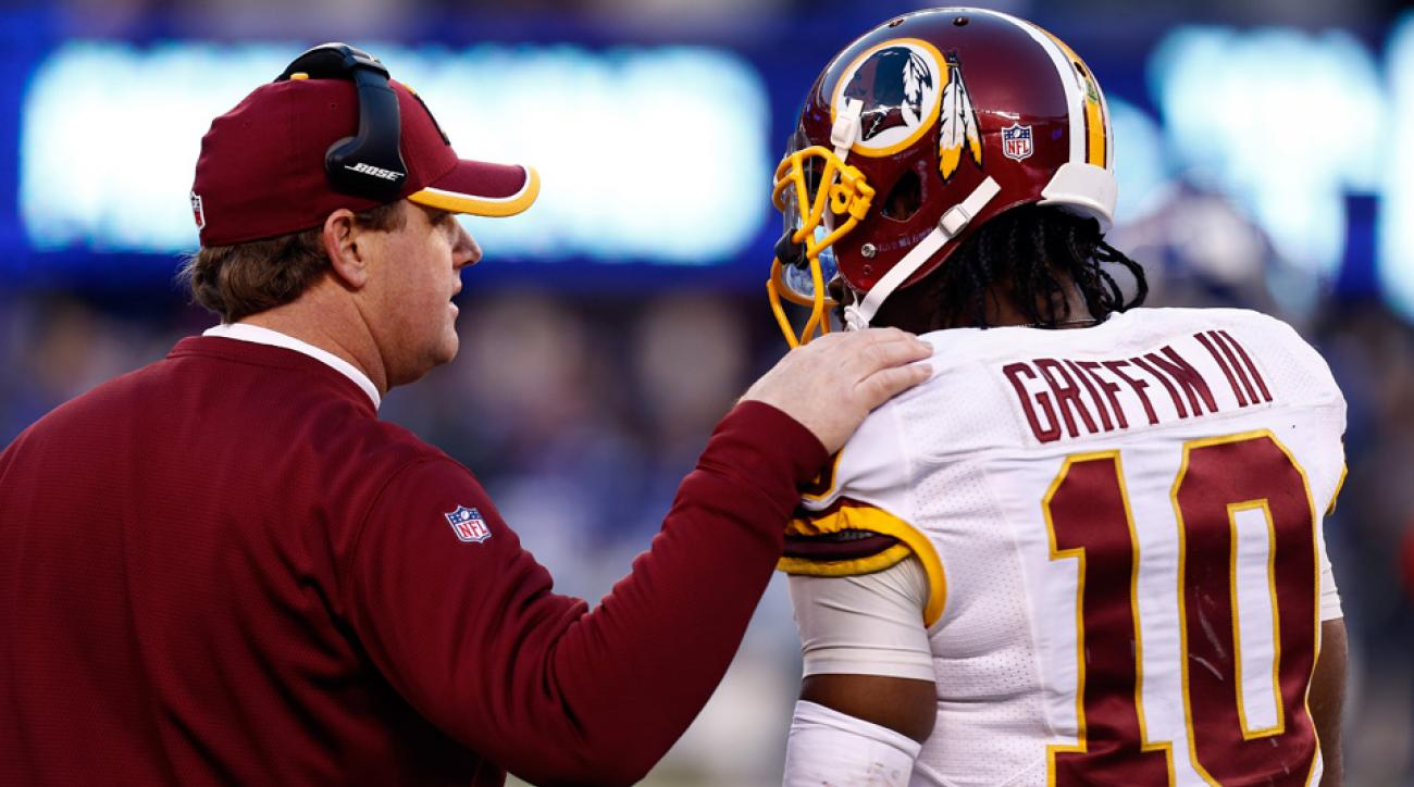 "Jay Gruden called his relationship with Robert Griffin III ""fairly decent."""