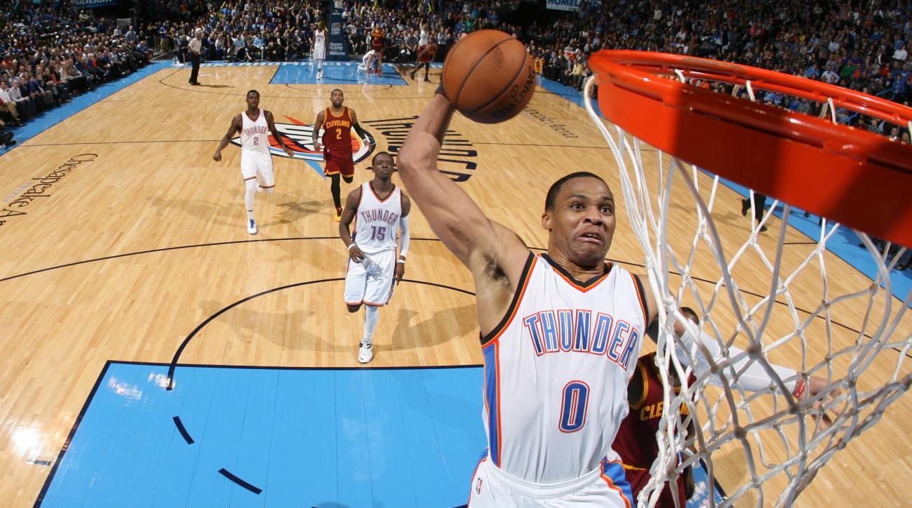 NBA fantasy picks Russell Westbrook